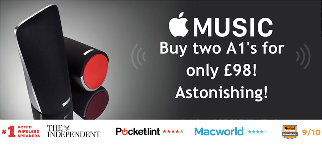 Wireless Speakers & AirPlay Speakers for Mac, PC, iPhone